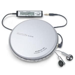 PANASONIC SL CT730EG- S DISCMAN S MP3